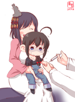 __shigure_and_yamashiro_kantai_collection_drawn_by.png